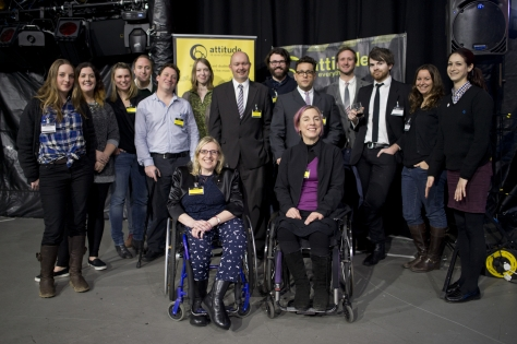 Staff and Trustees at the State of Access Report launch