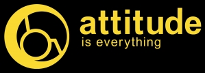 AiE logo - yellow on black