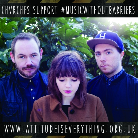 Chvrches support the Charter