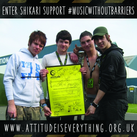 Enter Shikari support music without barriers
