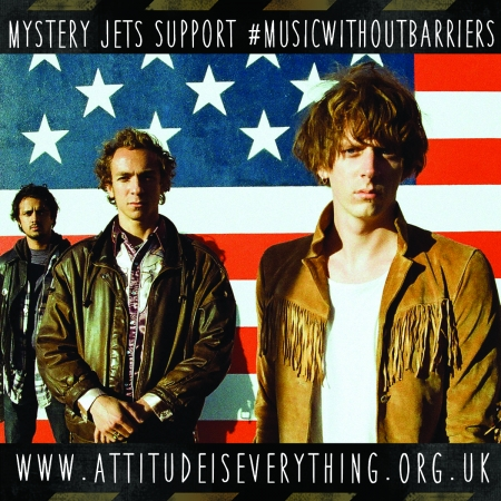 Mystery Jets support the Charter