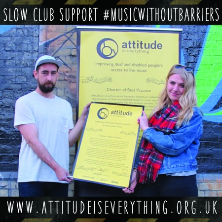 Slow Club supports music without barriers