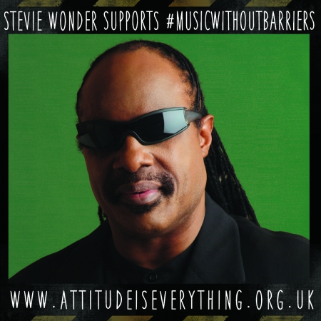 Stevie Wonder supports the Charter