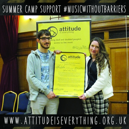 Summer Camp support music without barriers