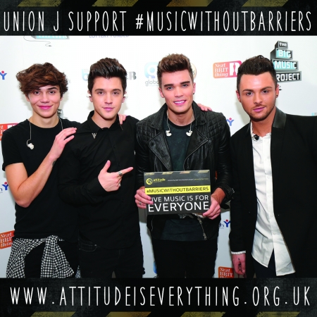 Union J support the Charter