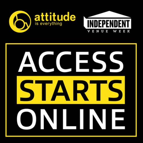 Access Starts Online campaign helping independent venues