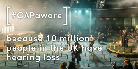 Our message to the live music and outdoor events industries on Captioning Awareness Week