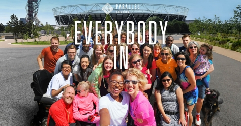 #EverybodyIn – Join Suzanne's Team for Parallel London!