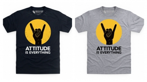 New T Shirt Design Attitude Is Everything