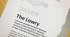 The Lowry Awarded Silver Charter Status