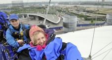 Watch Suzanne's 'Up at the O2' challenge