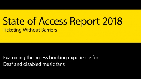 State of Access Report 2018: Ticketing Without Barriers