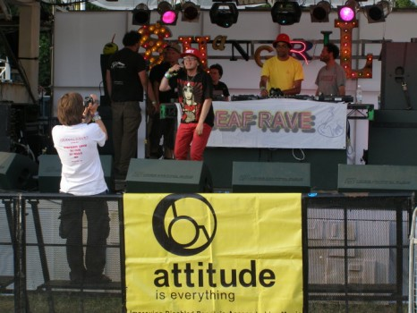 Club Attitude w/ Drugstore & Deaf Rave @ Glastonbury