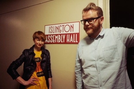 Huw Stephens (BBCR1) & Jo Good (XFM) compere at Islington Assembly Hall