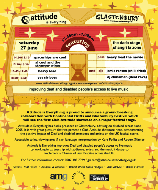 Glastonbury Flyer